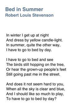 Robert Louis Stevenson. (I had this by heart as a child. rw)
