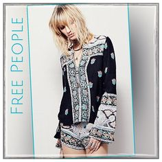 ✨Free People Bandana Bandit Short Set✨ ✨Free People Bandana Bandit Shirt Set✨Effortless two piece set featuring a tunic top and matching shorts in a vintage-inspired print. Top has subtle bell sleeves and lace up detailing at the sides with an oversized silhouette✨Shorts have hip pockets and hidden side zip for an easy fit✨54% Cotton/46% Rayon✨NWTs✨Size 8✨ Free People Shorts