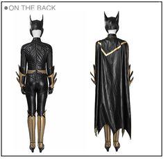 Professional Batman Arkham Knight Batgirl Cosplay Costume Jumpsuits Batman Cosplay Costume, Batgirl Cosplay, Anime Costumes, Movie Costumes, Cosplay Costumes, Batman Arkham Knight, Lolita Dress, Costume Design, Jumpsuits