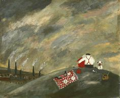 Gary Bunt | Happy Anniversary --Once every year They come up here Looking down On the house where they live He worked all his life For his dog, kids and wife And still he's got love to give