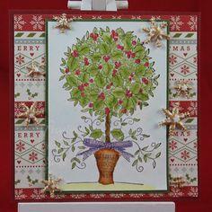 Tinas kreative Seite - Weihnachtssquare #23