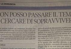 Udine, lettera trentenne suicida