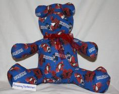 Amazing Spiderman Share-A-Bear - Edit Listing - Etsy Scary Kids, Very Scary, Amazing Spiderman, Something Special, Bear, Children, Etsy, Young Children, Boys
