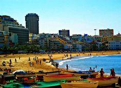 Playa de Las Canteras - Las Palmas de Gran Canaria.