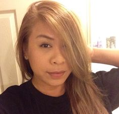 Lightest Beige Blonde mixed with Lightest Ash Blonde toners (T11 & T18 Color Charm).