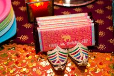 Candy bar favors at a Bollywood Party #bollywoodparty #candybar
