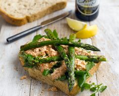 Asparagus, Crab & Watercress Sandwiches