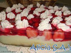 Receita de Torta de Morango (deliciosa)