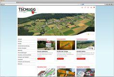 Für die Gemeinde Tschugg konnten wir ein komplett neues Erscheinungsbild gestalten. https://tschugg.ch/