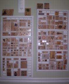stamp storage from printer trays