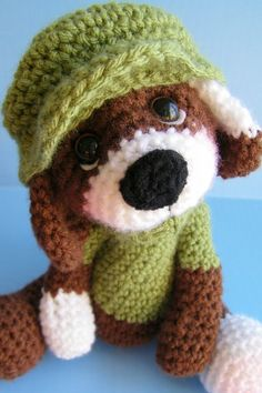 Dog Crochet PDF Pattern Simply Cute by TLC by thewoolpurl on Etsy