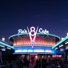 Classic 50's style diner.
