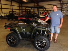 Congratulations to Kerry McFarland from Purvis, MS  for purchasing a 2017 Polaris Sportsman 570 from Hattiesburg Cycles. #polaris