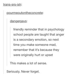 When you feel anger towards your children, take a break to figure out it's origin feeling. Then deal with that feeling the healthy way - do not burden your child with it, but do be open about it. The More You Know, Good To Know, Writing Tips, Writing Prompts, Def Not, Dissociation, Psychology Facts, Faith In Humanity, Life Advice