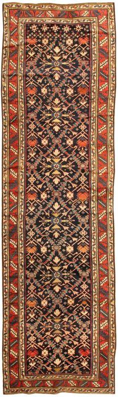Antique Kazak Caucasian Rug 43820 - Detailed Photo | Large Image
