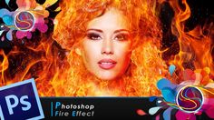 """This is a Photoshop tutorial on how to give a person a """"Fire Effect"""", which is similar to the Water Effect, but this time making it look like that person is made of fire."""