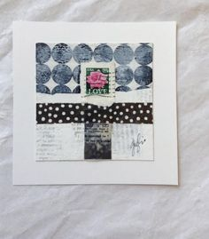 caterinagiglio: Carte Postale-Mini Mixed Media Paintings