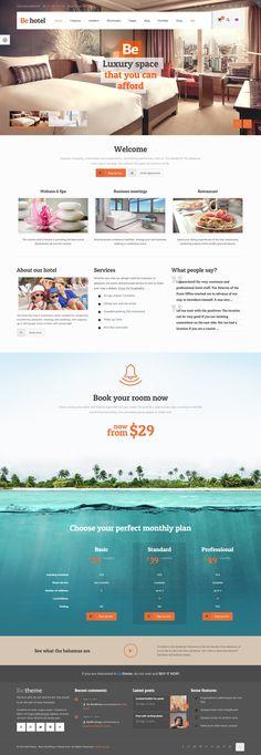 BeTheme - Responsive Multi-Purpose WordPress Theme #hotel #version