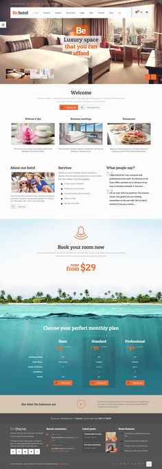 BeTheme - Responsive Multi-Purpose WordPress Theme #hotel #version