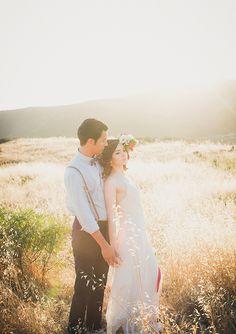 Modern Americana wedding inspiration | photo by Zoom Theory Photography | http://www.100layercake.com/blog/2013/07/19/modern-americana-wedding-inspiration/