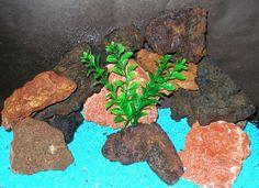 Aquarium Lava Rocks Multi Color Lava Rocks by ThirdPlanetTreasures