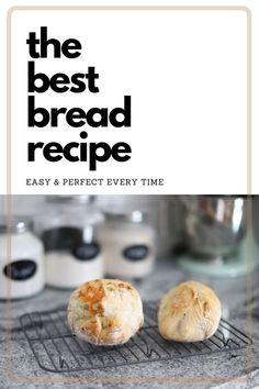 Dairy Free Diet, Dairy Free Recipes, Vegetarian Recipes, Healthy Recipes, Healthy Food, Best Bread Recipe, Easy Bread Recipes, Baking Recipes, Rosemary Bread