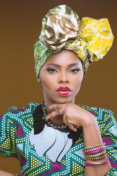 Chiding wrap ~African fashion, Ankara, kitenge, African women dresses, African prints, African men's fashion, Nigerian style, Ghanaian fashion ~DKK