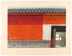 53 Stations of the Tokaido Series Kameyama by Sekino Junichiro / 東海道五十三次 亀山 関野凖一郎