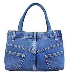 Tendance Sac 2018 : Jeans bagRecycled jeansShoulder handbagcasual denim bag forHandmade Handbag for women, denim, blue jeans handbag, catsCreative Ways To Old Jeans Upcycles Ideasgarden crafts for kidseasy diy projects for the garden Denim Tote Bags, Denim Purse, Blue Denim Jeans, Blue Jean Purses, Navy Blue Shoes, Diy Handbag, Recycled Denim, Recycling, Denim Crafts