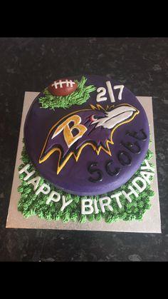 Nfl Baltimore Ravens Edible Image Cake Decoration Free