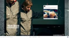http://travis.volvotrucks.com/  Great story telling with interesting scrolling elements