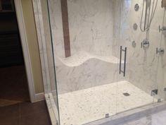 Add lounge in steam shower.