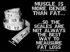 yes, muscle does not weigh more than fat. (a pound of rocks & a pound of feathers are the same weight. There are more feathers than rocks).