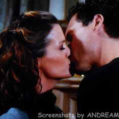 Nick and Chelsea kiss.  Nick promises her that they can slip out of the Newman dinner and have some fun later on.
