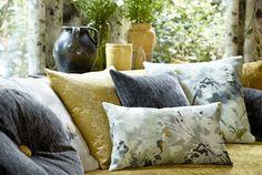 Tecidos Sanderson, colecção Aegean. À venda na Nova Decorativa! #decoração #tecidos #homedecor #fabrics #Sanderson