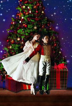 COSTUMED CHARACTERS FROM AMERICAN BALLET THEATRE'S ALL-NEW PRODUCTION OF THE NUTCRACKER TO RING NASDAQ OPENING BELL Christmas Scenes, All Things Christmas, Christmas Holidays, Merry Christmas, Winter Holidays, Christmas Ideas, Christmas Wonderland, Winter Wonderland, Nutcracker Costumes
