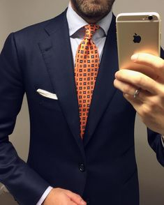 """1,901 mentions J'aime, 26 commentaires - Andreas Weinås (@andreasweinas) sur Instagram : """"17.01.27 - Details, A power suit calls for a power tie. Su Misura suit from @cesareattolininapoli…"""""""