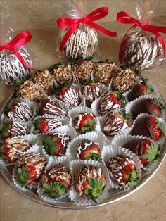 Gourmet Chocolate Covered Strawberries &  Chocolate Covered Apples