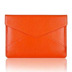 Air Mail (Oranssi) 13'' Läppärin Nahkatasku