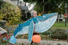 Cute Red Haired Boy in Whale Costume by Gabriel (Gabi) Bucataru - Halloween, Whale - Stocksy United Seahorse Costume, Whale Costume, Mermaid Costume Kids, Sea Costume, Little Mermaid Costumes, Fish Costume, The Little Mermaid, Book Character Costumes, Book Day Costumes
