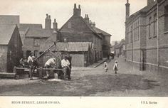 Old Leigh. Leigh On Sea, London Places, Old London, Old Photos, Places Ive Been, Past, Times, History, Old Pictures
