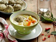 Egy finom Krumplileves zsályás zöld fűszeres gombóccal ebédre vagy vacsorára? Krumplileves zsályás zöld fűszeres gombóccal Receptek a Mindmegette.hu Recept gyűjteményében!