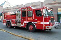 Boston Fire Department | Boston Fire Department. Engine 37.