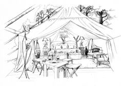 Glamping - Luxury Tent Camping
