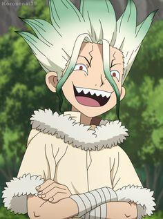 Manga Anime, Anime Art, Stone World, Stone Wallpaper, Animes Yandere, Film D'animation, Anime Expressions, Image Manga, Anime Shows