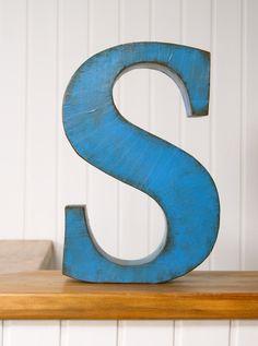 S, Letra decorativa | La tienda de La Factoría Plástica