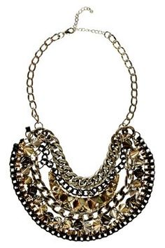 Statement necklace to go with the jumper