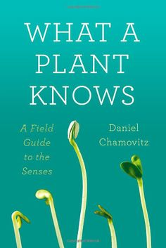 What a Plant Knows: A Field Guide to the Senses by Daniel Chamovitz #Science #Plants #Daniel_Chamovitz