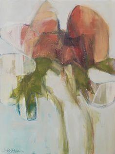Sweet Peas v.2.0   48 x 36   o/c Anne Irwin Fine Art
