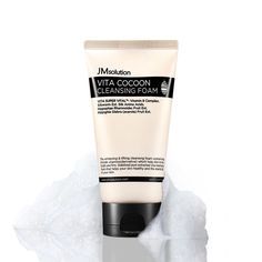 JM Solution Vita Cocoon Cleansing Foam 150ml (Deep Cleansing+Massage) K-Beauty #JMSolution